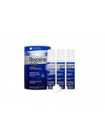 Regaine 50 mg/g espúma cutánea con minoxidil