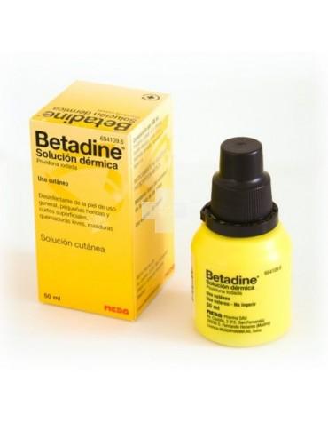 BETADINE SOLUC DERMICA  50 ML