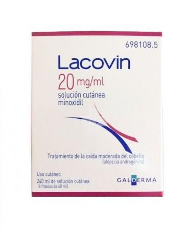 Lacovin 2% solución 4 frascos 60 ml