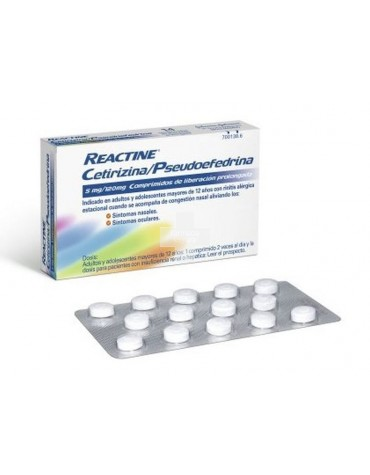 REACTINE PLUS 14 COMP