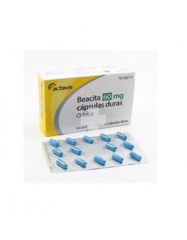 Beacita 60 mg Cápsulas Duras.