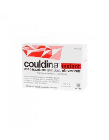 Couldina Instant con Paracetamol 10 sobres