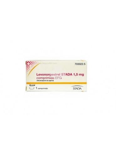 LEVONORGESTREL STADA 1.5 MG COMPRIMIDO EFG , 1 comprimido