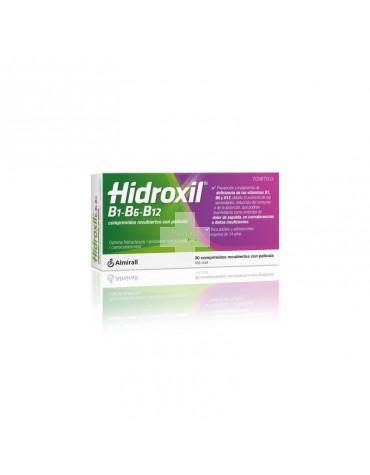 Hidroxil B1 B6 B12 30 comprimidos recubiertos con película