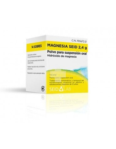 MAGNESIA SEID 2,4 G POLVO PARA SUSPENSION ORAL