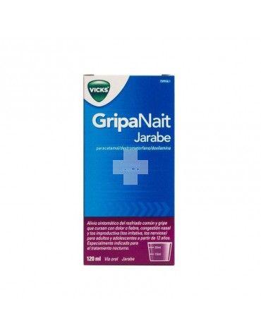 VICKS GRIPANAIT JARABE 120 ML