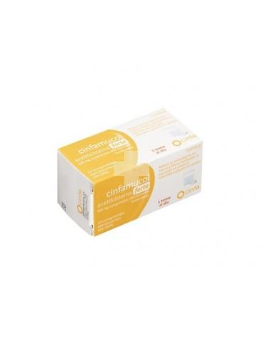 CINFAMUCOL ACETILCISTEÍNA FORTE 600 MG COMPRIMIDOS EFERVESCENTES, 10 comprimidos