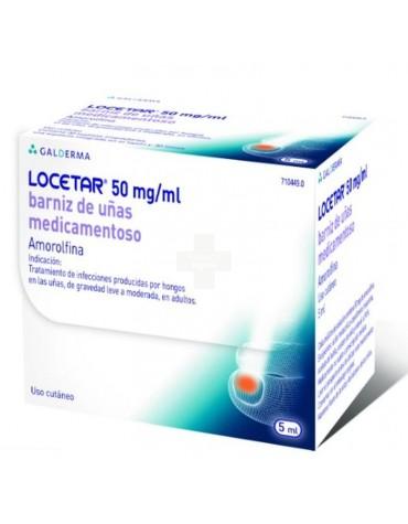 Locetar 50mg/ml Barniz de uñas Medicamentoso.