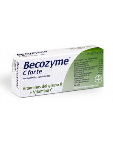 BECOZYME C FORTE 30 GRAG