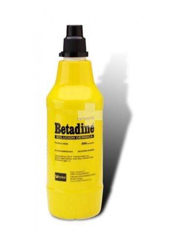 BETADINE SOLUC DERMICA 500 ML