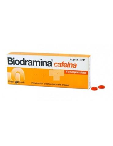 BIODRAMINA C 4 COMPRIMIDOS