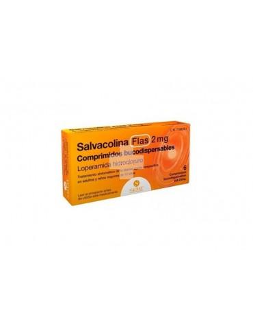 SALVACOLINA FLAS 2 MG COMPRIMIDOS BUCODISPERSABLES, 6 comprimidos