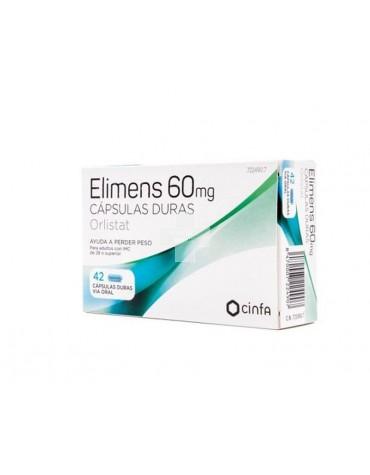 ELIMENS 60 MG CAPSULAS DURAS, 42 cápsulas (Blister)