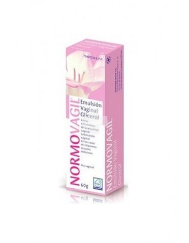 NORMOVAGIL 100 mg/g EMULSION VAGINAL , 1 tubo de 60 g + 1 aplicador