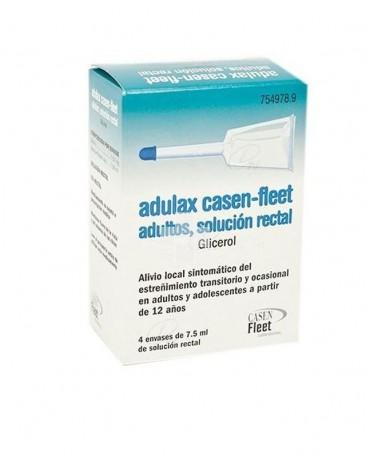 Adulax 7,5 g solución rectal 4 aplicadores