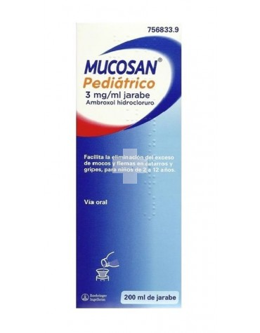 MUCOSAN 3 MG / ML JARABE 200 ML