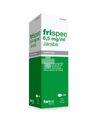 FRISPEC 6,5 mg/ml JARABE