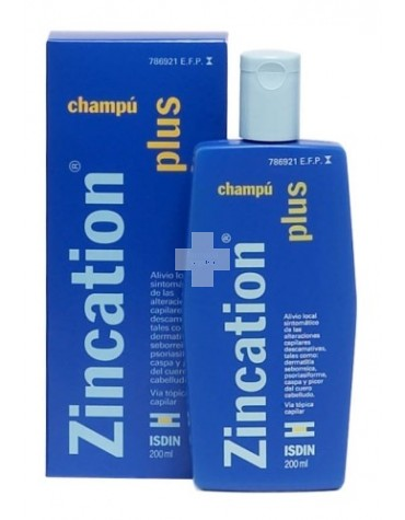 Zincation Plus 10 mg/4 mg/ml champú