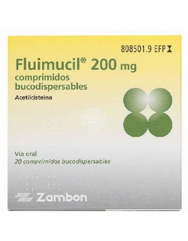 FLUIMUCIL 200 MG 16 COMP DISPE