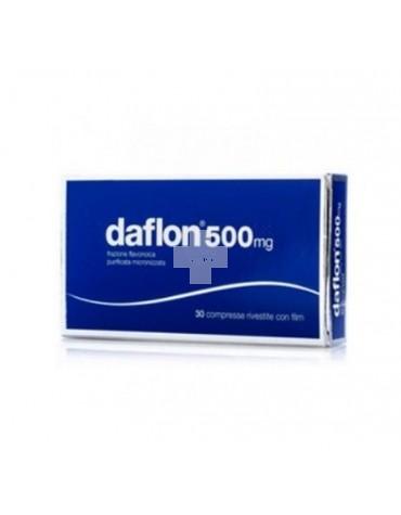 Daflon 500 mg 30 Comprimidos Recubiertos.