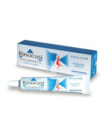 Rinocusi Vitamínico 12.500 UI/g pomada nasal, 1 tubo de 10 g