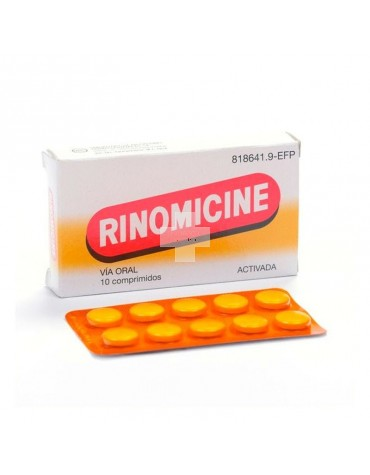 RINOMICINE ACTIVADA 10 TABL