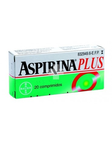 ASPIRINA PLUS 20 COMP