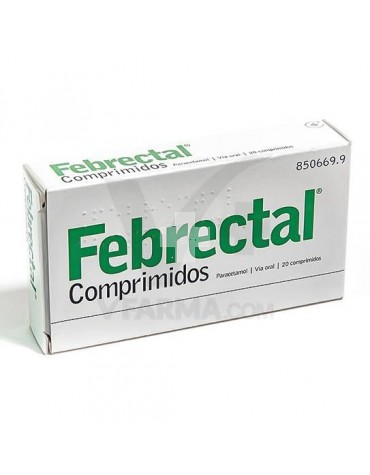 FEBRECTAL SIMPLE 20 COMP