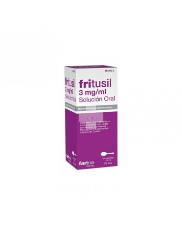 FRITUSIL 3 mg/ml SOLUCION ORAL