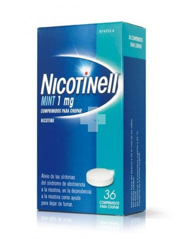 NICOTINELL MINT 1 MG 36 COMP