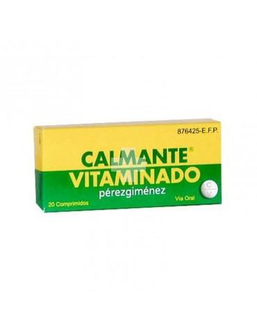 Calmante Vitaminado Pérez Giménez Comprimidos.