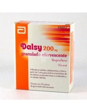 DALSY 200 MG GRANU EFER 20 SOB