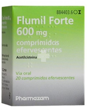 FLUMIL FORTE 600 MG 20 COMP