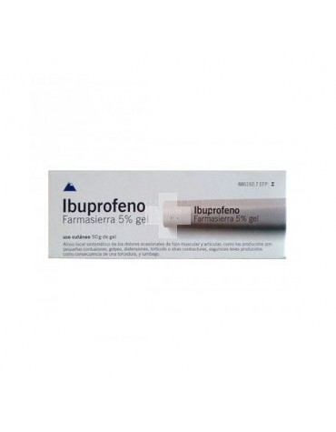 Ibuprofeno Farmasierra 50 mg/g gel