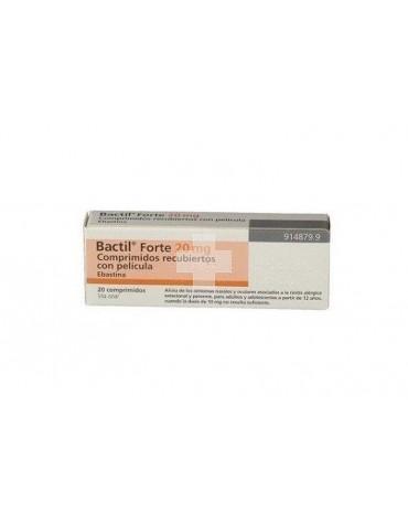 BACTIL FORTE 20 mg COMPRIMIDOS RECUBIERTOS CON PELICULA, 20 comprimidos