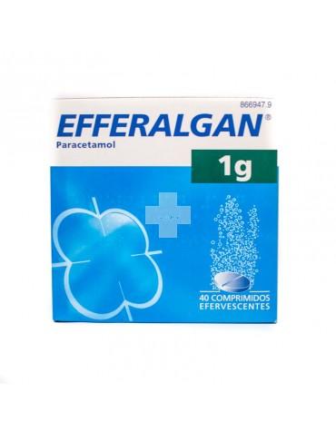 EFFERALGAN 1G 20 COMP EFERVESCENTES