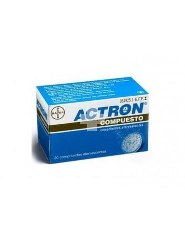 Actron Compuesto 267 mg/133mg/40mg comprimidos efervescentes