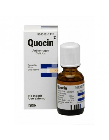 QUOCIN SOLUC TOPICA 20 ML
