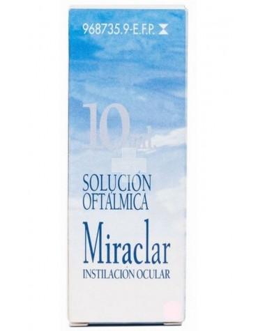 MIRACLAR SOLUC OFTALMICA 10 ML