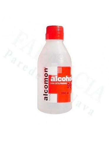ALCOMON REFORZADO 96º SOLUCION CUTANEA 250 ML