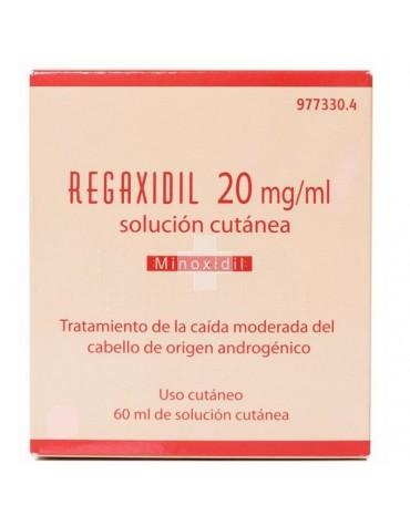 REGAXIDIL 20 MG/ML 60 ML SOLUCION CUTANEA