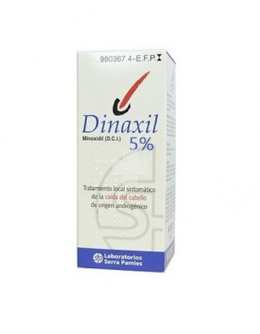 DINAXIL 20 MG/ML SOLUCION CUTANEA 1 frasco de 60 ml