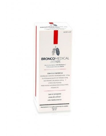 BRONCOMEDICAL JARABE 180 ML