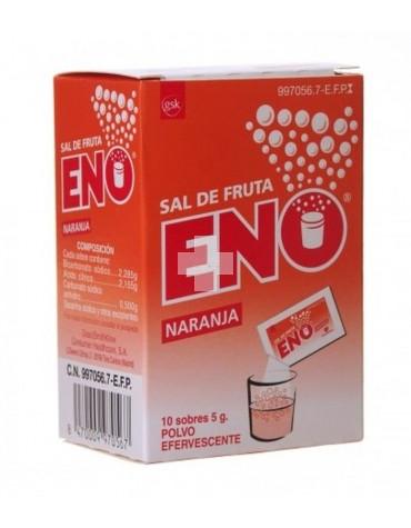 SAL DE FRUTAS ENO NARANJA 10 SOBRES