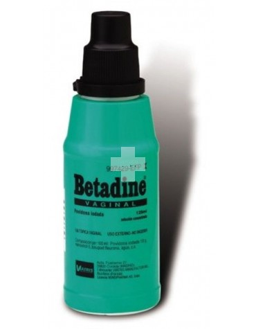 Betadine Vaginal 100 mg/ml Solución Vaginal