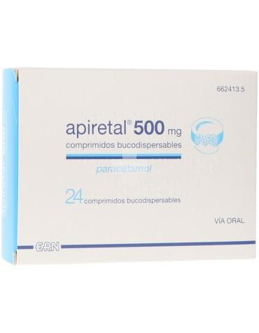 Apiretal 500 Mg 24 Comprimidos Bucodispersables