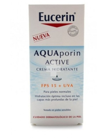 EUCERIN AQUAPORIN ACTIVE CREMA HIDRATANTE FPS 15