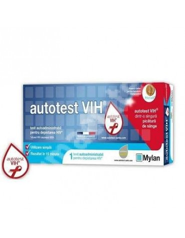 AUTOTEST VIH MYLAN - PRUEBA VIH EN CASA