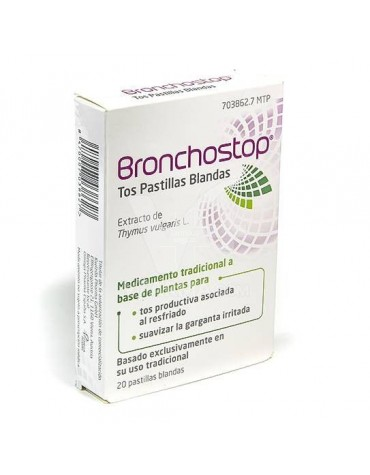 BRONCHOSTOP 20 PASTILLAS