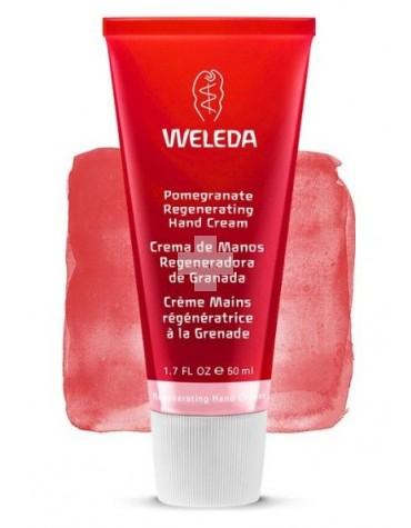 Weleda Crema de Manos de granada 50 ml, regenerador, antioxidante, previene las manchas